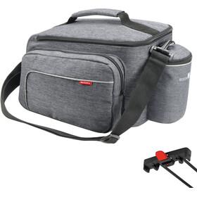 KlickFix Rackpack Sport Luggage Carrier Bag for Racktime, grey